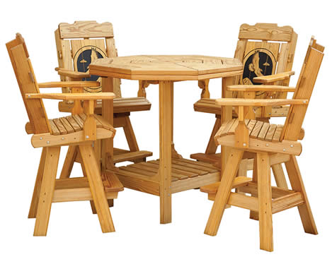 Alaska Patio Tables and Chairs